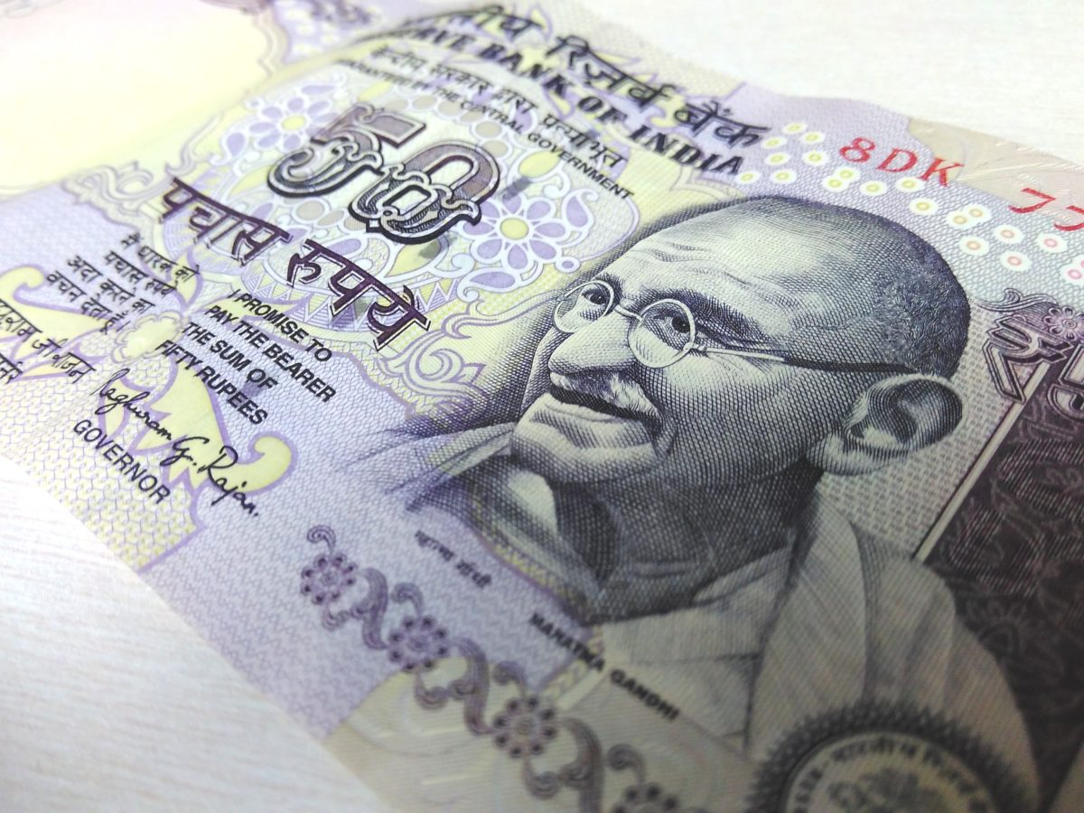 Why are people sending less money to India?